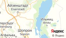 Отели города Руст на карте