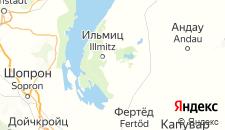 Отели города Апетлон на карте