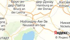 Отели города Парндорф на карте