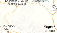 Гостиницы города Раковица на карте