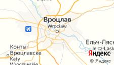 Хостелы города Вроцлав на карте