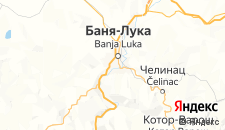 Отели города Баня-Лука на карте