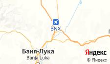 Гостиницы города Лакташи на карте