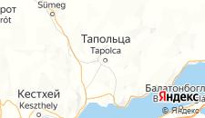 Отели города Тапольца на карте