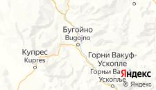 Гостиницы города Бугойно на карте