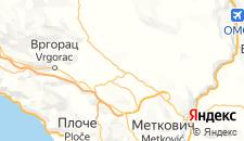 Гостиницы города Любушки на карте