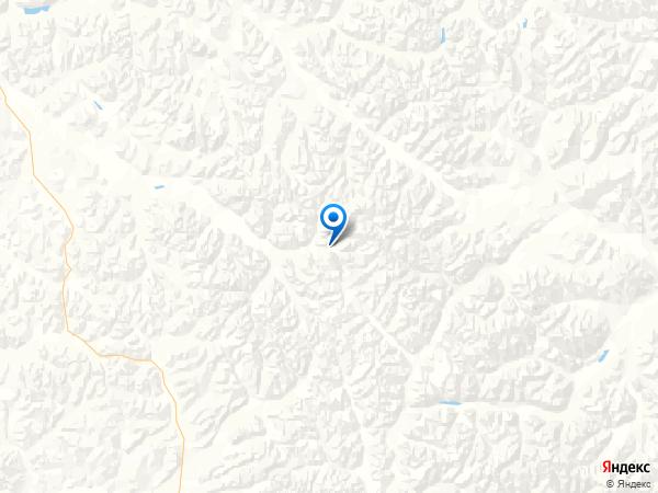 поселок База Орлиная на карте