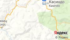 Гостиницы города Бьелашница на карте