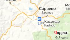 Гостиницы города Илиджа на карте