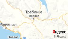 Отели города Требине на карте