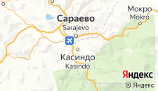 Гостиницы города Лукавица на карте