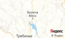 Гостиницы города Билеча на карте