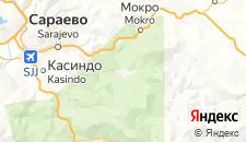 Отели города Пале на карте