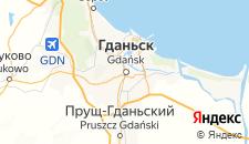 Отели города Гданьск на карте