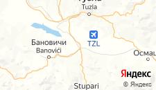 Гостиницы города Живинице на карте