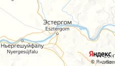 Отели города Эстергом на карте