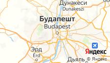 Отели города Будапешт на карте