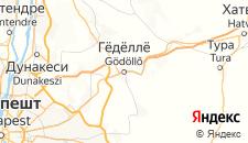 Отели города Геделле на карте