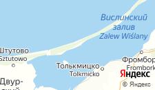 Отели города Крыница-Морска на карте