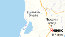 Отели города Дивьяка на карте