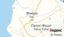 Отели города Фиери на карте