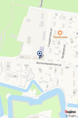 ГИБДД Г. БАЛТИЙСКА на карте Балтийска