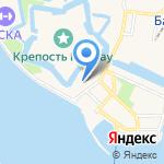 Центр Государственной инспекции по маломерным судам МЧС России по Калининградской области на карте Балтийска
