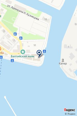 АКБ ИНВЕСТБАНК на карте Балтийска