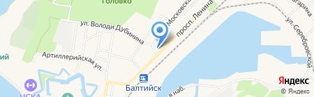 Редиа Плюс на карте Балтийска