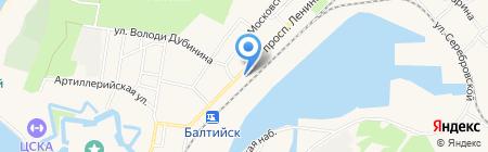 Смакfood на карте Балтийска