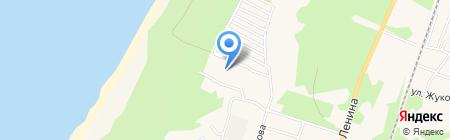 Любимый на карте Балтийска