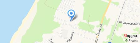 Бар на Гвардейском бульваре на карте Балтийска