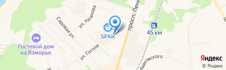 Мастерская по ремонту обуви на проспекте Ленина на карте Балтийска