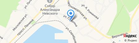 Продовольственный магазин на карте Балтийска
