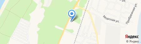 АЗС ЛУКОЙЛ на карте Балтийска