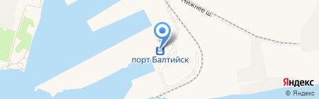 ТБК на карте Балтийска