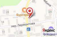 Схема проезда до компании Магазин хозяйственных товаров в Янтарном