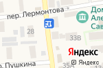 Схема проезда до компании Вкус-Ням-Ба в Янтарном