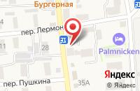 Схема проезда до компании Русский янтарь в Янтарном