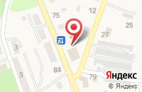 Схема проезда до компании Мебельная Ярмарка в Янтарном