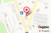 Схема проезда до компании Оля в Янтарном