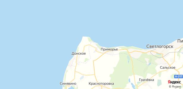 Филино на карте