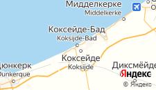 Отели города Коксейде-Бад на карте