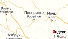 Отели города Поперинге на карте