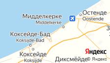 Отели города Вестэнде на карте