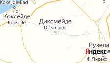 Отели города Диксмёйде на карте
