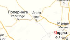 Отели города Ипр на карте