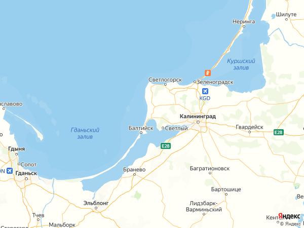 поселок Дивное на карте