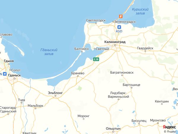 поселок Богдановка на карте