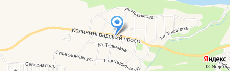 Магазин овощей и фруктов на проспекте Мира на карте Светлогорска